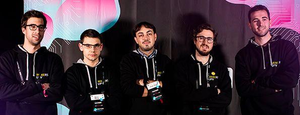 Imagen de Un equipo de Makers UPV se impone en la categoría Future Cities del hackaton más grande de Europa con GuideMe