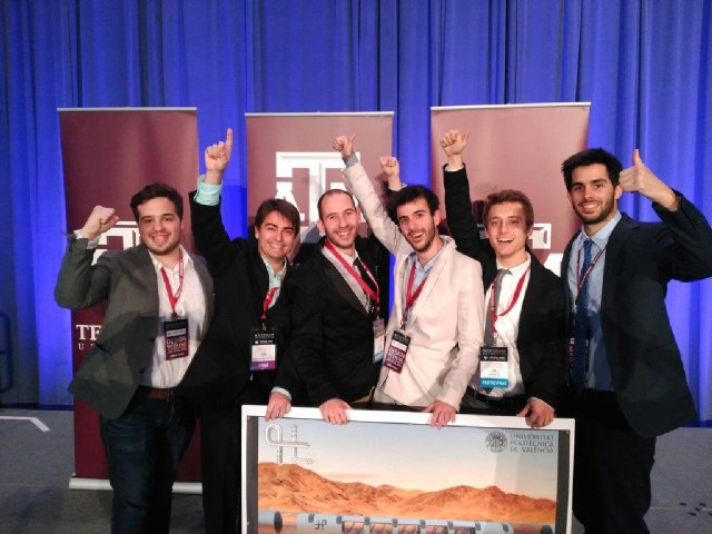 Imagen de Winners at Hyperloop Design Weekend